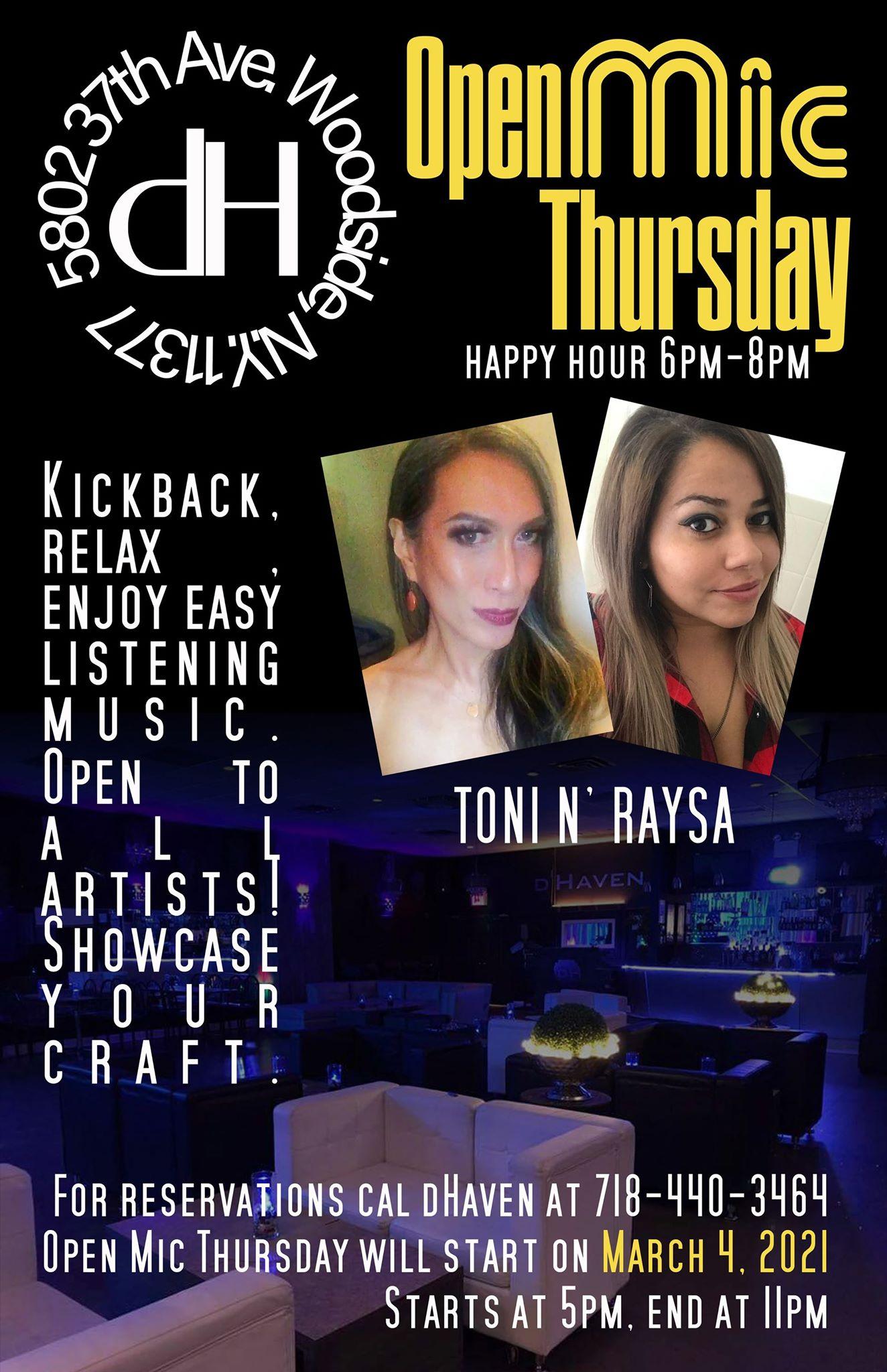 Open Mic Thursday